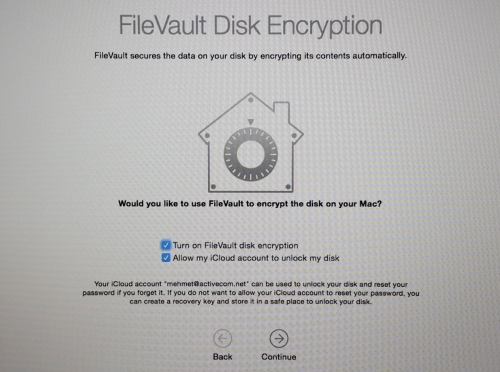 FileVault Encryption